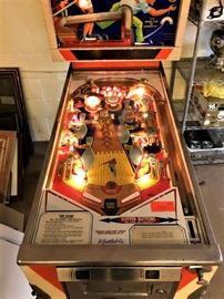 Vintage Gottlieb Pinball Machine - Top Score - A Game of Skill
