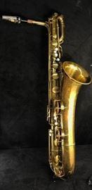 Vintage Tran American Baritone Sax