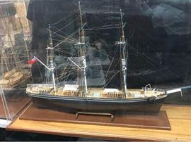 Unique Cutty Shark Ship Model