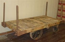 1920's - 1930's Industrial Cart