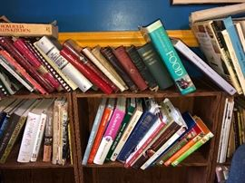 Tons of great cookbooks