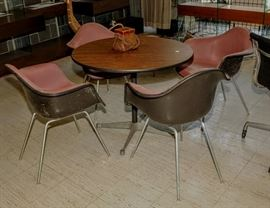 EAMES CHAIRS AND TABLE
