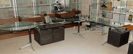 LARGE HERMAN MILLER BURDICK GROUP SYSTEM