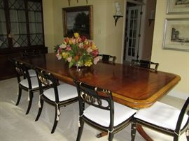 Baker - Historic Charleston Dining Table & Chairs