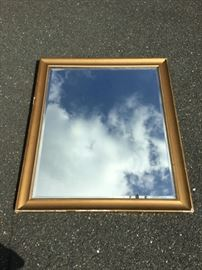 Large Framed Mirror https://ctbids.com/#!/description/share/53181