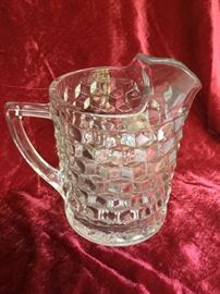 Fostoria Crystal Pitcher https://ctbids.com/#!/description/share/53018
