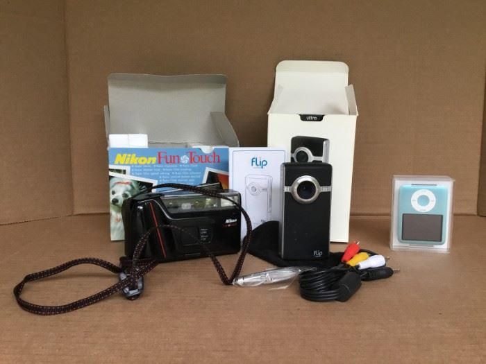 Nikon Camera, iPod Nano and Ultra Flip Video https://ctbids.com/#!/description/share/53037