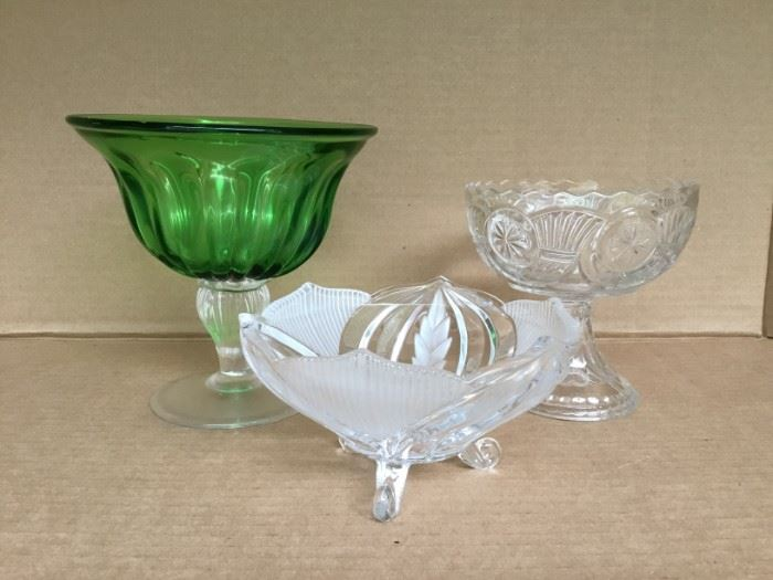 Glass Candy Dishes https://ctbids.com/#!/description/share/53040