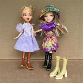 """Braty"" Dolls with Extra Boots https://ctbids.com/#!/description/share/53066"