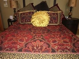 Dian  Austin  Bedding . The center pillow is not included in the sale