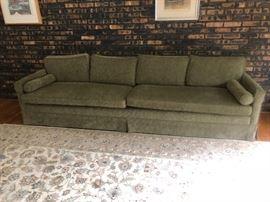 Mid century long sofa