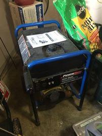 Generator - it runs.