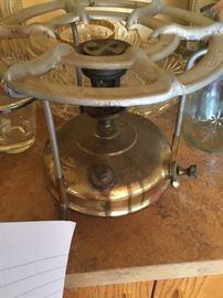 Brass, Swedish camp stove