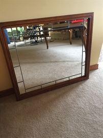 Great, heavy mirror.