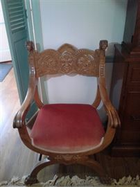 North Wind Carved chair