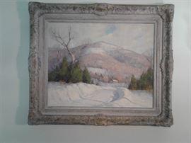 Allen Dean Cochran, oil on canvas