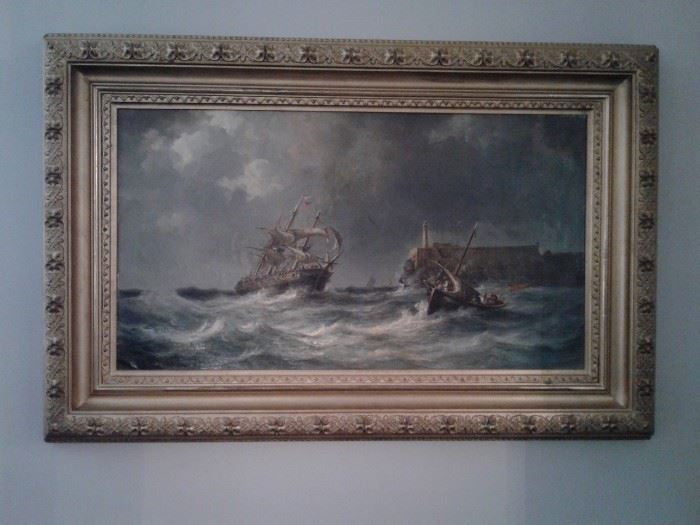 Fritz Sigried Georg Melby, oil on canvas