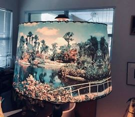 lamp shade 1950's??  Cypress Gardens photo subject.  $125.