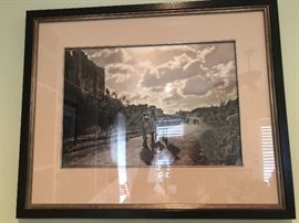 Framed Photo, Origin- Jerusalem, c. 1920's