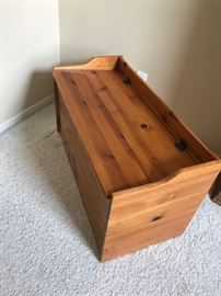 Maple Blanket Chest