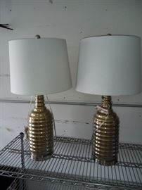 2 New Table Lamps