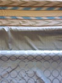 3 Bolts of Upholstery Fabric