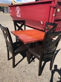 Set of 2 Square Commercial Tables