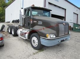 6 1997 International TA semi tractor,