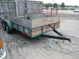 7 TA trailer, 7000 GVW,