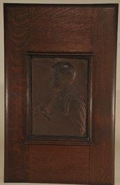 Augustus St. Gaudens Jules LePage Bronze Plaque