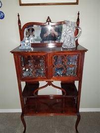 Beautiful Accent Antique Curio Cabinet