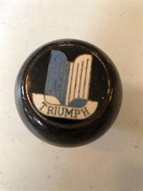 Wood and enamel gear shift for vintage Triumph Spitfire