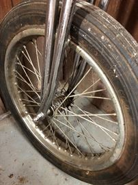 Tire on Paughco springer
