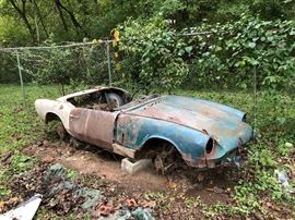 1968 Triumph Spitfire -as we are processing the property we have discovered many parts for this automobile. Buy the parts or the whole. Will negotiate sale in advance of estate sale to serious buyers. Please call 615-336-1675