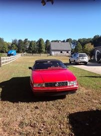 1990 Cadillac Allante 141K very clean car. Taking bids. BIDDING will start at $4500.00. Bidding will end at 4:00 PM Saturday. High Bidder will be called after 4:00 PM Saturday.