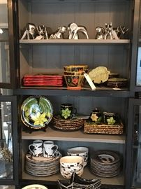 222 Fifth, Laurie Gates, GatesWare and Z Gallerie dishes