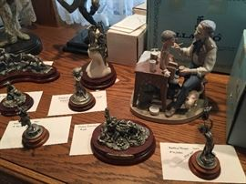 CHILMARK PEWTER FIGURINES