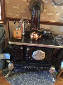 ANTIQUE OCCIDENTAL STOVE