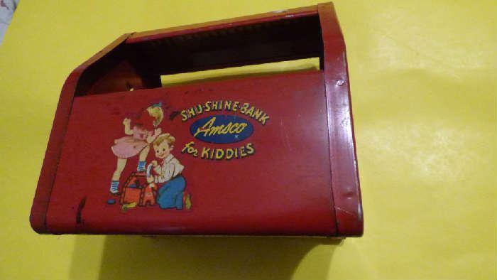 Antique shoe shine