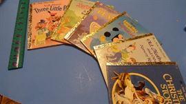 vintage Golden Books