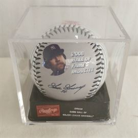 collectible baseballs