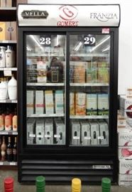 Beverage Aire Display Sliding Doors Case Model M ...