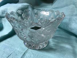 "Shannon Cut Crystal Bowl (9.5""dia) 49.50"