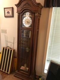 Beautiful hall grandfather clock