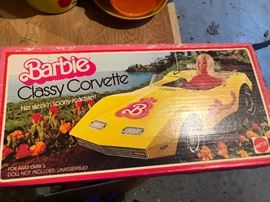 Barbies Classy Corvette