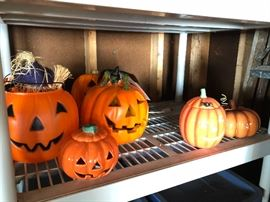 Loads of Halloween decor, if you would like to pre purchase Halloween decor let us know and we can bring to our showroom in Palatine or our other sale in Mundelien