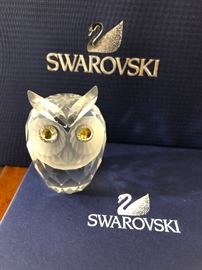SWAROVSKI CRYSTAL LG OWL 7636 060