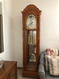 Howard Miller 3 Tube Grandfather clock