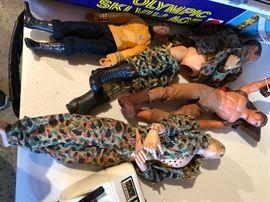 Ken dolls and Gi Joes