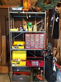 Tools, Golf Clubs, Outdoor Electrical